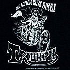 THE ACTION GUYS BIKE! TRIUMPH
